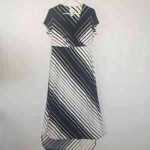 Chico's crisscross high low maxi dress -